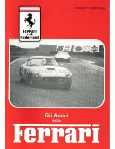 1984 FERRARI GLI AMICI DELLA MAGAZIN 7 NIEDERLÄNDISCH