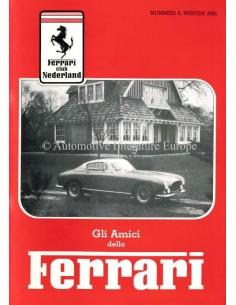 1985 FERRARI GLI AMICI DELLA MAGAZIN 8  NIEDERLÄNDISCH