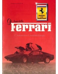 1985 FERRARI GLI AMICI DELLA MAGAZINE 8 DUTCH