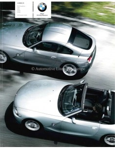 2008 BMW Z4 ROADSTER & COUPE BROCHURE GRIEKS
