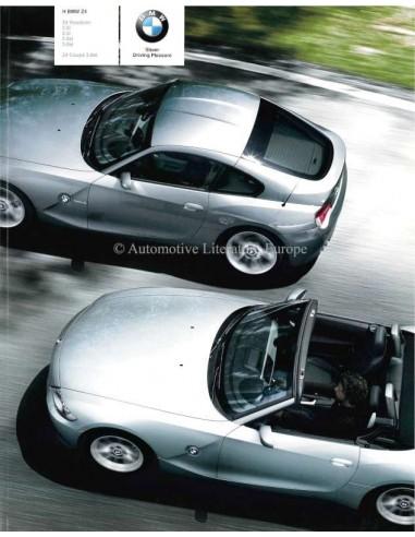 2008 BMW Z4 ROADSTER & COUPE BROCHURE GRIEKS