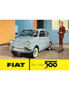 1958 FIAT 500 BROCHURE ENGLISH