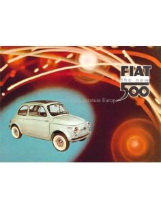 1958 FIAT 500 PROSPEKT ENGLISCH