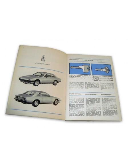1977 FERRARI 400 AUTOMATIC & GT INSTRUCTIEBOEKJE 142/77