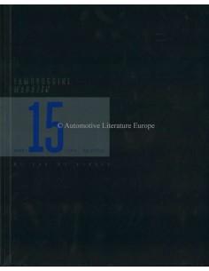 214 LAMBORGHINI MAGAZINE 15 BLUE SIDERIS DUITS