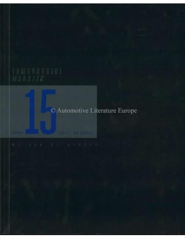 2014 LAMBORGHINI MAGAZINE 15 BLUE SIDERIS GERMAN