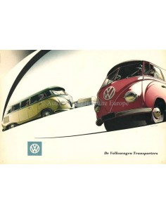 1953 VOLKSWAGEN TRANSPORTER BROCHURE DUTCH
