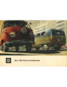 1954 VOLKSWAGEN TRANSPORTER BROCHURE DUTCH