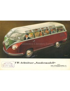 1953 VOLKSWAGEN TRANSPORTER BROCHURE GERMAN