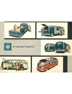 1956 VOLKSWAGEN TRANSPORTER BROCHURE DUTCH