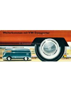1958 VOLKSWAGEN TRANSPORTER BROCHURE DUITS