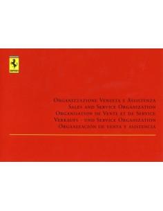 1999 VERKAUFS - UND SERVICE ORGANISATION HANDBUCH 1465/99