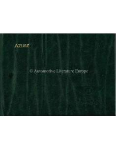 2002 BENTLEY AZURE MULLINER OWNERS MANUAL ITALIAN