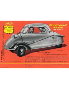 1959 MESSERSCHMITT KR 200 DELUXE BROCHURE NEDERLANDS