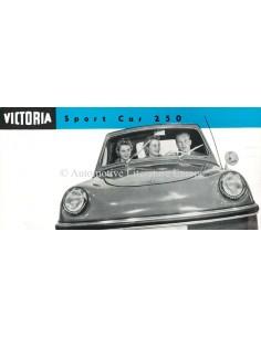 1958 VICTORIA SPORT CAR 250 BROCHURE ENGLISH