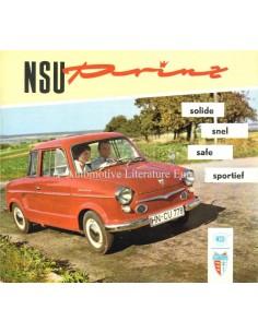 1959 NSU PRINZ I & II PROSPEKT NIEDERLÄNDISCH