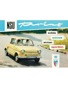 1959 NSU PRINZ I & II & 30 PROSPEKT NIEDERLÄNDISCH