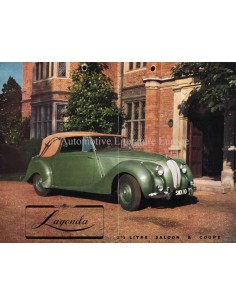 1949 ASTON MARTIN LAGONDA SALOON & COUPÉ BROCHURE ENGLISH