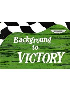 1975 ASTON MARTIN BACKGROUND TO VICTORY PROSPEKT ENGLISCH