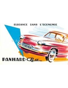 1960 PANHARD PL17 PROSPEKT FRANZÖSISCH