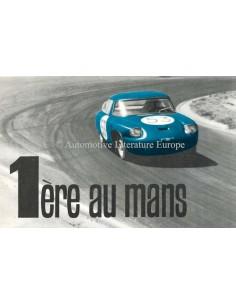 1963 PANHARD CD '1ÈRE AU MANS' PROSPEKT FRANZÖSISCH