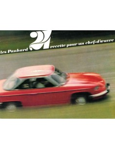 1965 PANHARD 24 BROCHURE FRENCH