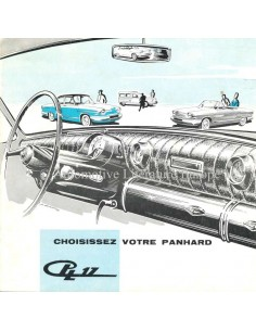 1962 PANHARD 17 BROCHURE FRENCH