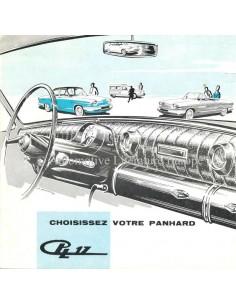 1962 PANHARD 17 PROSPEKT FRANZÖSISCH