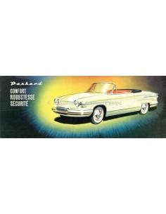 1960 PANHARD PL17 BROCHURE DUTCH