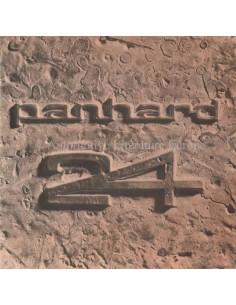 1960 PANHARD 24 BROCHURE NEDERLANDS