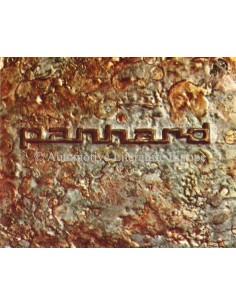 1963 PANHARD 17 & CD PROGRAMM PROSPEKT FRANZÖSISCH