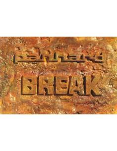 1963 PANHARD 17 BREAK BROCHURE FRENCH