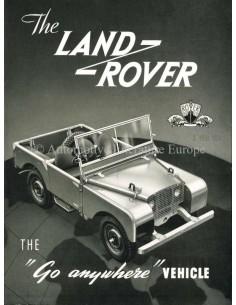 1952 LAND ROVER SERIES 1 PROSPEKT ENGLISCH