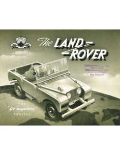 1951 LAND ROVER SERIES 1 BROCHURE ENGELS