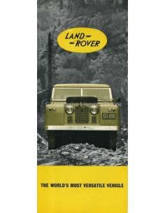1961 LAND ROVER SERIES IIA BROCHURE ENGLISH