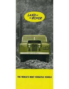 1961 LAND ROVER SERIES IIA PROSPEKT ENGLISCH