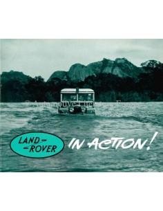 1964 LAND ROVER SERIES IIA BROCHURE ENGLISH