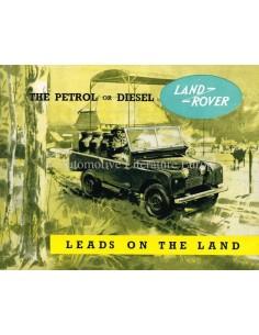 1956 LAND ROVER SERIES I BROCHURE ENGELS