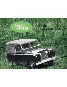 1957 LAND ROVER SERIES I PROSPEKT NIEDERLÄNDISCH