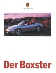 1997 PORSCHE BOXSTER PROSPEKT DEUTSCH
