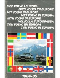 1967 VOLVO EUROPA SERVICE HANDBUCH