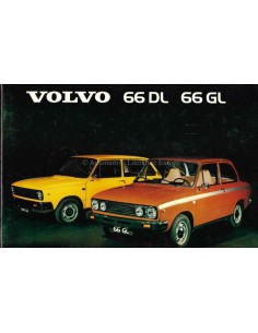 1976 VOLVO 66 INSTRUCTIEBOEKJE NEDERLANDS