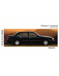 1991 VOLVO 960 OWNERS MANUAL ENGLISH