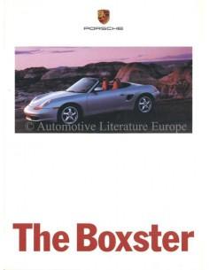 1996 PORSCHE DER BOXSTER PROSPEKT DEUTSCH