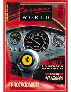 1996 FERRARI WORLD MAGAZINE 40 ITALIAANS