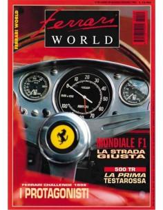 1996 FERRARI WORLD MAGAZINE 40 ITALIENISCH