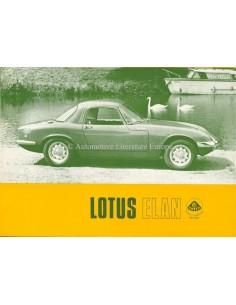 1967 LOTUS ELAN BROCHURE ENGELS