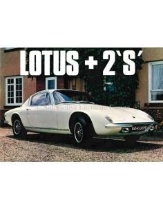 1969 LOTUS ELAN +2S BROCHURE ENGELS