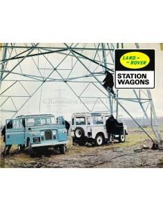 1967 LAND ROVER STATION WAGONS SERIES IIA PROSPEKT ENGLISCH