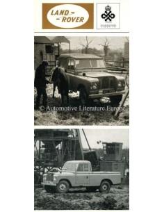 1960 LAND ROVER SERIES II PROSPEKT ENGLISCH